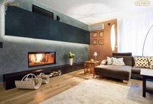 Obývacia izba / Inšpirácia dekoratívnych náterov VALPAINT v obyvačke.