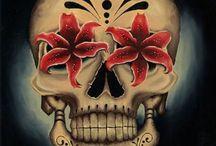 Şirin Kafatası Dövmeleri