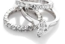 Bespoke Ring Sets / A small selection of some rings made to specific Customer requirements