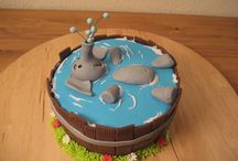 Safari cakes