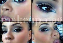 Make up / Maquillage sur peaux noires