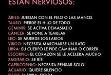 COSAS Y CURIOSIDADES DE LOS SIGNOS