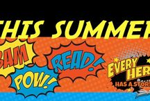 Every Hero Has A Story / 2015 Summer Reading Program - Kids / by Atlantic County Library System