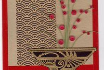 Asian themed cards