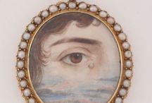 Eye paintings Georgian