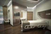 Design interior hospital room
