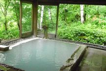 温泉 Onsen spa