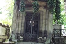 Graveyards and Crypts / Might or might not be haunted.