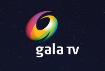"""Caso: Gala TV / Televisa requería cambiar el nombre de su canal 9 Galavisión que responde a la necesidad de actualizar la marca después de 10 años, diferenciarla de su homónima en Estados Unidos y complementar el equity del portafolio de Televisa –así como el Canal 4 evolucionó hacia Foro TV. Su nuevo símbolo evoca la letra """"G"""" del nombre. En conjunto forman una galaxia en espiral. La gama cromática reinterpreta los colores luminosos de la barra de televisión."""