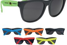 Custom Neon Sunglasses A Great Summer Giveaway / Here are a few of our best selling personalized sunglasses.  These are perfect promos for weddings, beach, parties, and even spring break!