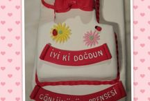 Birthday Cake / Özel sipariş doğrultusunda hazırlanan katkı maddesiz özel butik pastalar...