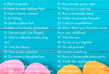 Summer Family Fun / Free things to do with the kids this summer