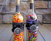 Crafty - Wine Bottles / by Martha Hall