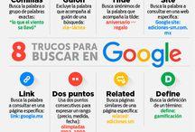 Googlear / Trucos para buscar en Google y sacar el máximo partido a sus aplicaciones.