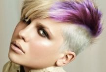 Wild and fun hair colors