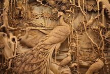 Tallado en madera wood carvings