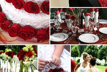 Christmas Wedding / Christmas eve is on a Saturday this year and on Christmas is on a Saturday next year -- are you planning a Christmas wedding?  Check out this beautiful red Christmas wedding inspiration board! / by Wiregrass Weddings