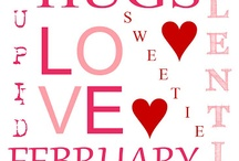 Valentine's Day / Romance, Crafts, Food and LOVE <3