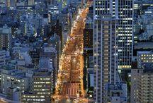 Tokyo l'active / Incontournable, ne se reposant jamais, l'active ville de Tokyo est un must see au Japon.