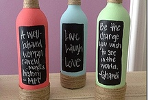 DIY decoration with Chalk Paint by Annie Sloan
