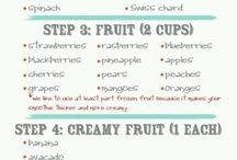 Juicing / Juices, smoothies and any other healthy drink
