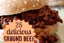 Ground beef and Turkey Recipes