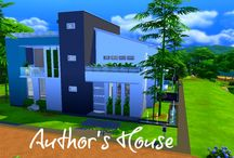 The Sims 4 houses / Youtuber's take and traditional, modern and all different styles of building and decorating. www.youtube.com/lynnxgoncalves