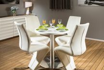 White Corian Dining Sets