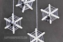 spider web sticks