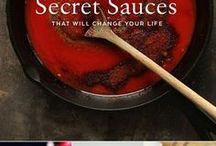 Sauce and marinades