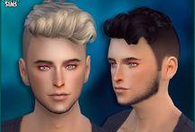 capelli in stile umano maschili