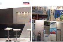 Europort İstanbul 2015 / Alan kurumu, özel dekor ve dijital baskı hizmeti verdiğimiz #EuroportIstanbul2015 bugün açılıyor.