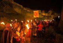 """Carcassonne / La """"Marche aux Flambeaux"""" 2014. Photos: Julien Roche / Ville de Carcassonne"""