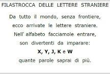 Lettere straniere prima