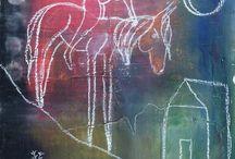 Painted Ponies Original Art by Sheri / by sheri gaynor