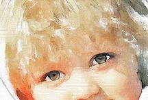 Portraits & Art children