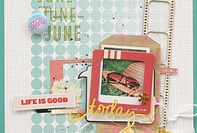 Inspiration for the June 2013 Kits from Citrus Twist
