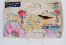 Envelopes/ Art decorated