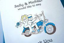 Harley wedding idea
