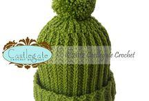 Pom Pom Beanies / by Castlegate Crochet