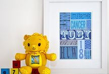 For Births and babies / Fabulous, personalised typographic art, designed specifically to celebrate the birth of a baby. They make beautiful, unique gifts which serve as a lasting reminder of the special day. Produced on museum quality, 350gsm canvas weave or on permanent grade, fine art card. Bespoke framing is also available for fine art prints. Prices from just £29. See www.thebeaskneesandthecatswhiskers.co.uk for lots more ideas and inspiration! / by The Bea's Knees & The Cat's Whiskers