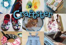 Crafty Tutorials and Interviews / Crafty Tutorials and Interviews / by Craftster