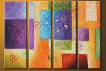 abstract paint art