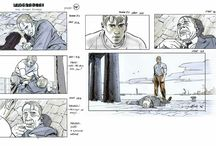 Captain America Storyboard (Rodolfo Damaggio)