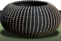 Basketry - Coiling / løbbinding / My Work - mit løb