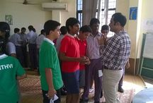 Seminar Jan 2015 / Here's a glimpse of seminars happened in the first week of January at Kola Saraswathi Senior Secondary School, Alpha Vidhya Mandir School, Harvest International School and so on.. #JUpdate