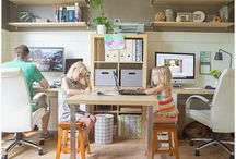 Home office / by Jessi Keefe