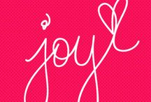 JOY / My word for 2014 is JOY