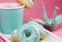 {Doughnuts, cookies, sweets}