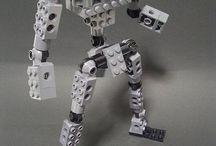 Лего скелет